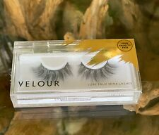 Velour Luxe Faux Mink Eye Lashes  -  BNIB RRP £24