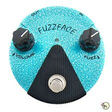 Dunlop FFM3 Jimi Hendrix Fuzz Face Mini Distortion LED Guitar Effects Pedal