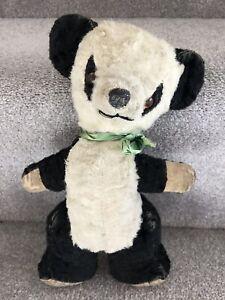 Vintage Panda Soft Toy Teddy Bear