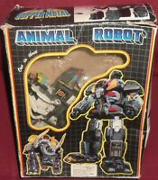 ANIMALS ROBOT 1/THREE TRANSFORMERS TAIWAN VINTAGE 80-MAMMUTH ELEFANTE beast,wars