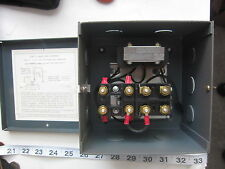 Warrick Controls TF  230/200V 0NC 2NO 1C2D1 Style NEMA 1 Control Relay, New
