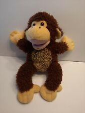 "14"" Mary Meyer Plush Monkey Full Body Hand Puppet Soft Pre School Play"