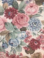 """"""""""" A 1984 Vintage  SANDERSON  Fabric Remnant  128 cms W x 70 cm Long"""