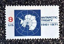 1971US #1431 8c Antarctic Treaty - Single   Mint NH