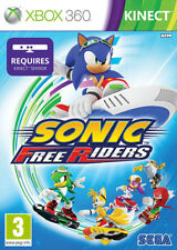 Sonic Free Riders XBox 360 Kinect Game *in Good Condition*