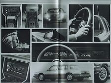 1987 / 1988 Oldsmobile TOURING SEDAN Brochure / Catalog: Limited Edition, 98