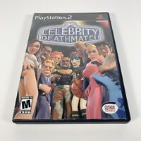 MTV Celebrity Deathmatch (Sony PlayStation 2, 2003) PS2 Complete with Manual CIB