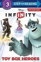 Toy Box Heroes (Disney Infinity) (Step into Readin