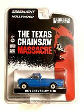 Greenlight Texas Chainsaw Massacre 1971 Chevrolet C-10 Hot Topic Exclusive New
