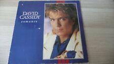 david cassidy vinyl album-romance-1985