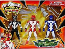 Power Rangers Jungle Fury Master Red Tiger, Black Bat, Jaguar New Factory Sealed