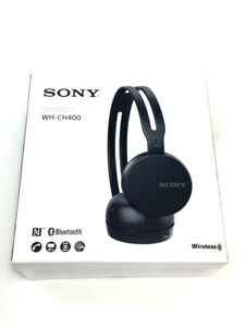 NEW Sony WHCH400 Wireless Bluetooth On-Ear Headphones WH-CH400 - Black