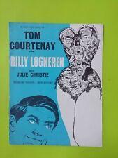 "Danish Film Program. ""Billy Liar"" Tom Courtenay.Julie Christie.Finlay Currie."