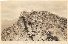 A1237) WW1 ALPINI, APPOSTAMENTO DI ARTIGLIERIA IN MONTAGNA.
