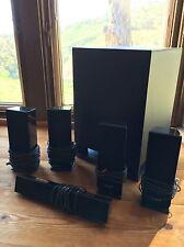 SONY SS-WSB102 and SS-TSB101 5 Piece HomeTheater Surround Speaker System