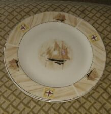 """Saling Boat By Winpat Dinner Plate(s) 10 1/2"""" 4 avail"""