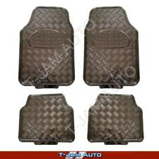 Premium Metallic Carbon  Rubber Car Floor Mats Toyota Kluger 4WD