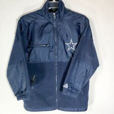 DALLAS COWBOYS | NFL jacket Fleece and Nylon.Size Medium Woment