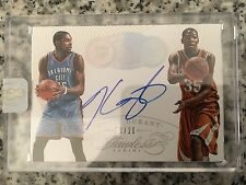 2014-2015 Panini Flawless Now and Then Kevin Durant POP 13 of 20 #NT-KD