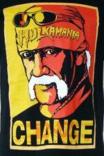 Hulk Hogan Hulkamania Change TNA Wrestling Black Iconic Image S/S T-Shirt M