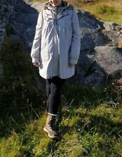 M&S Cotton Parka Coat Jacket, Size S, Detachable lining and fur, Maternity