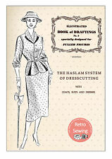 The Haslam System of Dresscutting No. 3 - Fuller Figures - 1950's  - Copy