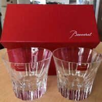 Baccarat Limited Edition Crystal Tumblers Etna 2011 Japan