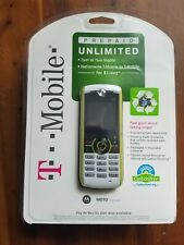 MOTOROLA T-Moble Moto Cell Phone W233 Renew Sealed Package Pay as you Go Plan
