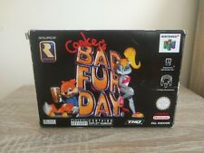 Conker's Bad Fur Day - EUR Nintendo 64 N64 Box Only Original Conkers BFD Boite