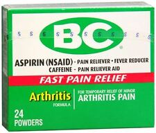 BC Arthritis Formula Pain Reliever Powders 24 Each (Pack of 5)