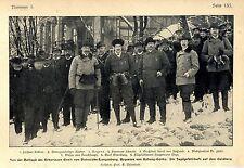 Von der Hofjagd des Erbprinzen Ernst von Hohenlohe- Langenburg Regenten von 1905