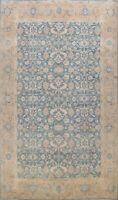 Geometric Khotan Oriental Hand-knotted Area Rug Wool Vegetable Dye Carpet 9'x13'