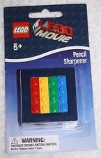 The LEGO Movie Pencil Sharpener Can Sharpen 2 Sizes  NEW