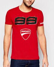 Jorge Lorenzo 99 motos gp ducati  t-shirt Camiseta Nuevo logo Dos Demonios