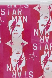 PURE EVIL DAVID BOWIE STAR MAN XMAS PAPER POSTER THE BIG ISSUE RARE XCLUSIVE ART