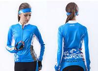 Women Ciclismo Long Sleeve Shirt Clothing Bicycle Sportswear Cycling Jersey Tops