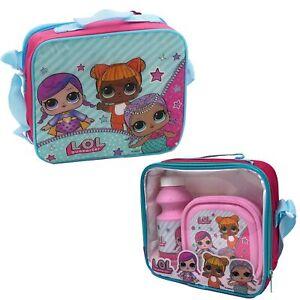 Children's Character Lunch Bag with Strap Bottle & Snack Box Set - Choose Design