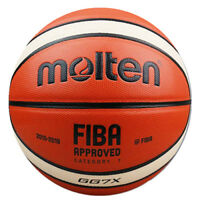 Molten GG7X FIBA Offical Size 7 ball PU Leather  Outdoor Training Basketball