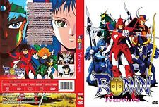 RONIN WARRIORS The COMPLETE COLLECTION Anime TV Series +OVA 3-DVD Anime & Manga