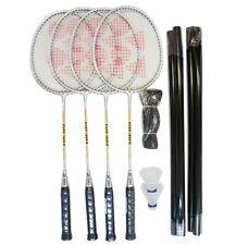 Yonex 4 Player Badminton Set including 4 Racquets, Poles, Net & Nylon Shuttles