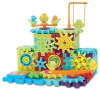 81 Piece Funny Bricks Gear Building Toy Motorized Spinning Gears ~ US Seller