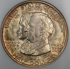 1921 Alabama 2x2 Commemorative Half Dollar, NGC MS-64