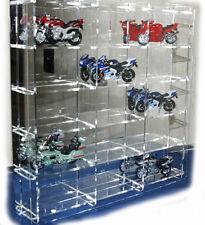 sudu® Sammelvitrine Setzkasten Schaukasten Acrylglas für Motorrad 1:18