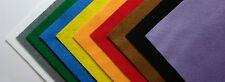 Bastelfilz / Filzplatte  20 x 30 cm 150g/m² (Dicke: 2 mm)  Farbe: sonnengelb