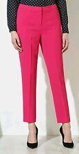 BNWT Pantalones * Siguiente * Tamaño 8 L, inteligente a medida, Rosa Crepé Cónico Pantalones, Verano