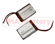 2pcs Mp3 Battery 503448 3.7V 900mAh Li-Po Battery for replace Phone Mp4 Gps Cell