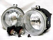 For 07 Compass Sebring Caliber 06-09 Charger Fog Light Lamp RL H Pair W/2Bulbs