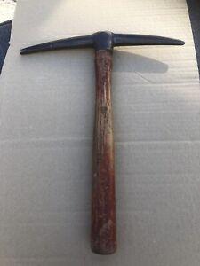 Vintage Brades 1686 Geologist Pick Hammer  Made In  England