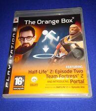 RARE NEW SEALED Orange Box UK PS3 PlayStation 3 Portal Half Life 2 Team Fortress