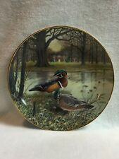 Knowles Living with Nature - The 'Wood Duck' Collector Plate